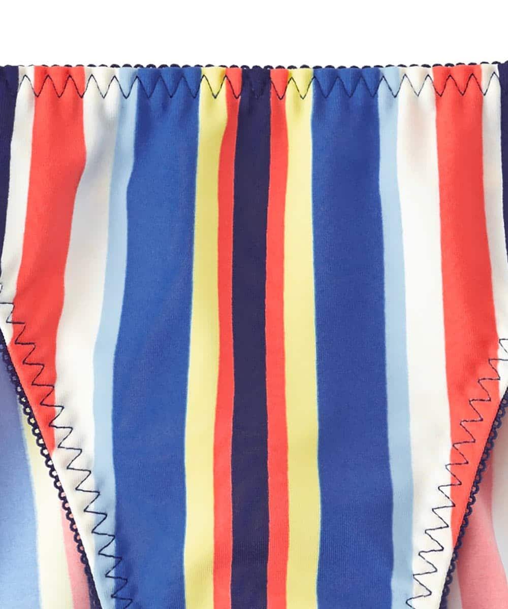 Colorful Stripe プレーンショーツ