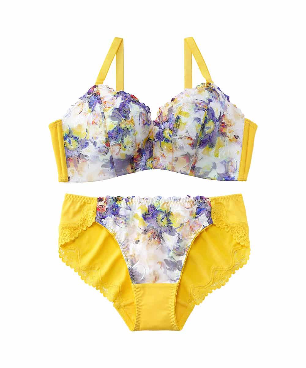 Twinkle flower 超盛ブラ(R) ブラジャー&ショーツ
