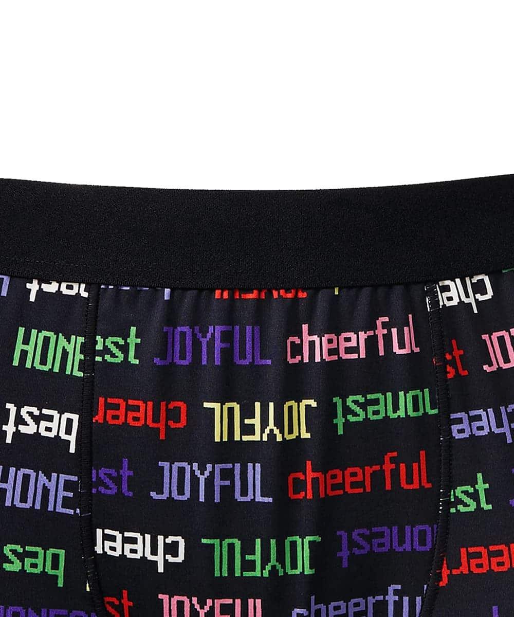 【プライスダウン】Colorful Logo2  ボクサーショーツ(メンズ)