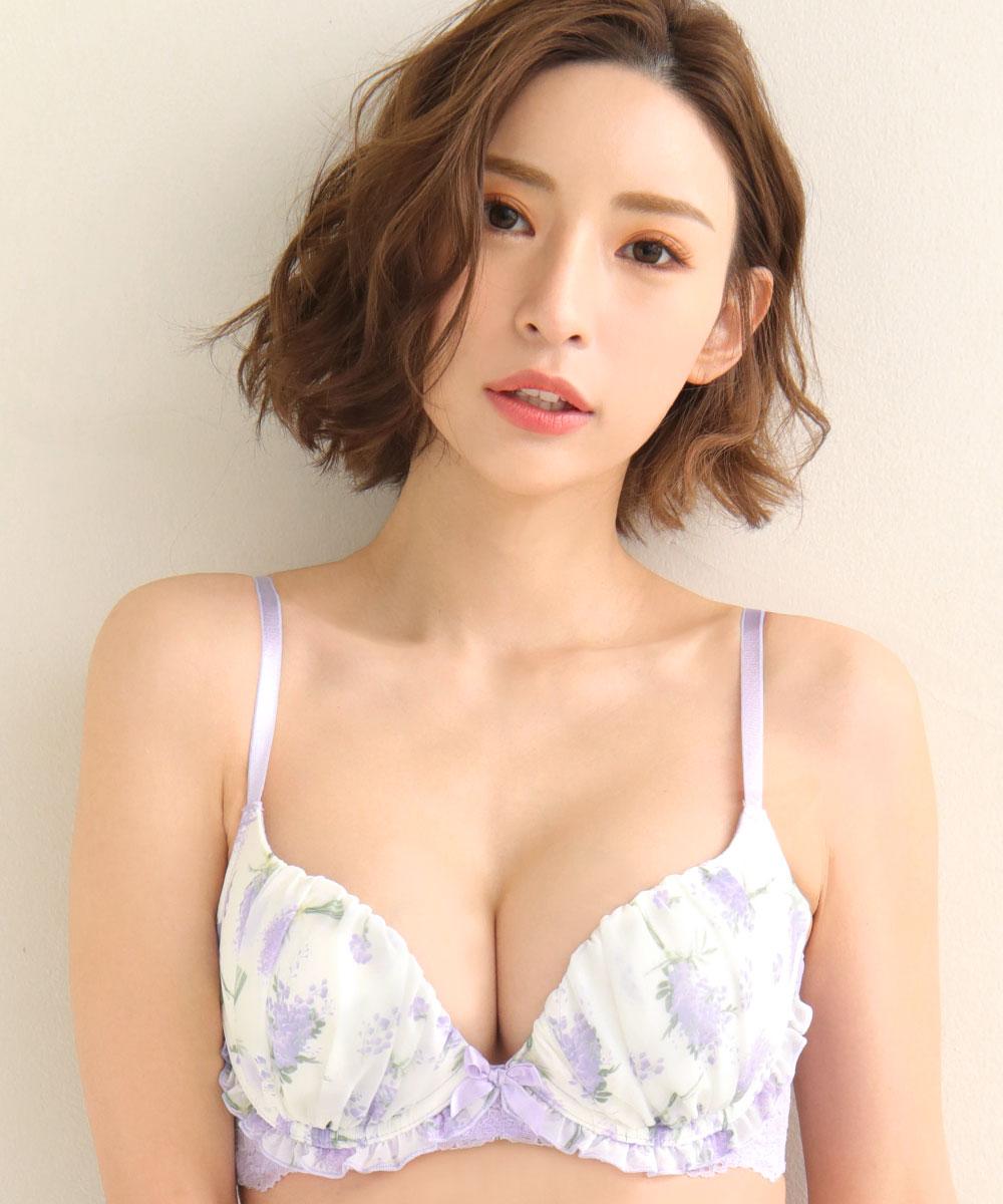 ミモザ 脇高 ブラジャー&ショーツ