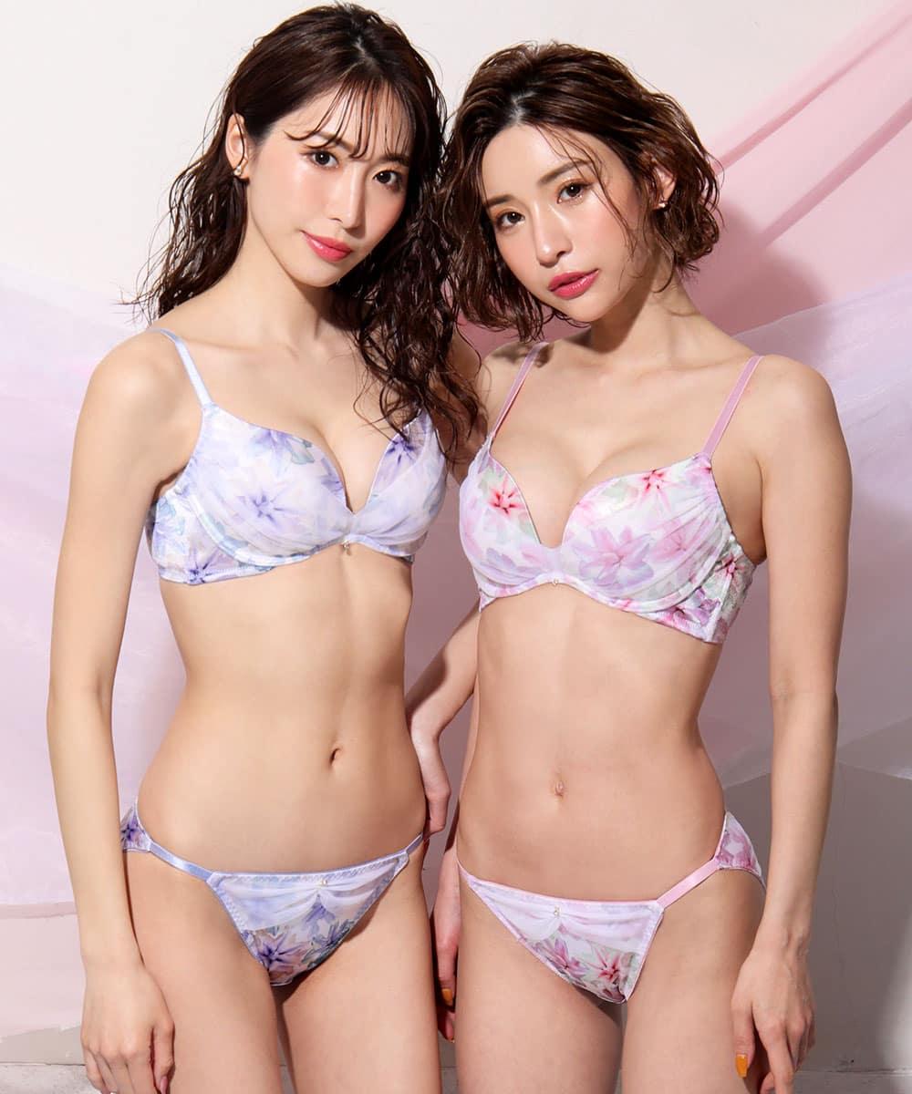 Pure Lily 脇高 ブラジャー&ショーツ