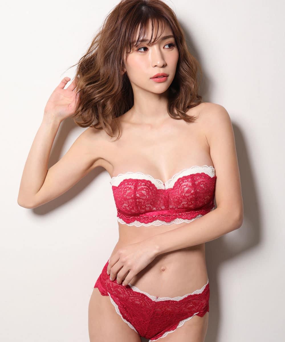 【プライスダウン】SEXYボニータ ハーフカップ ブラジャー&ショーツ