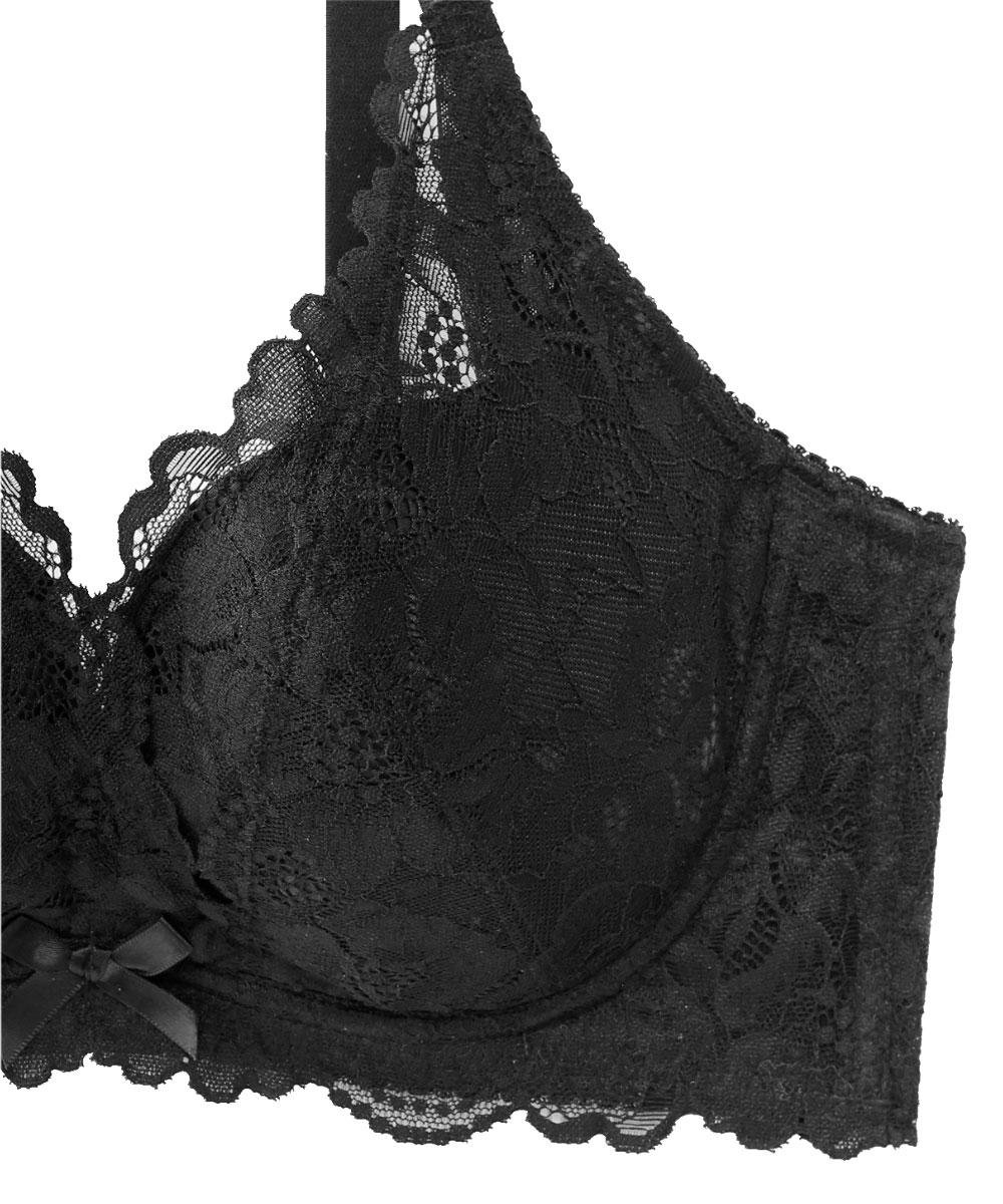 カシュクールレース脇高ブラ(R) 単品ブラジャー (F85/G85/H85サイズ)