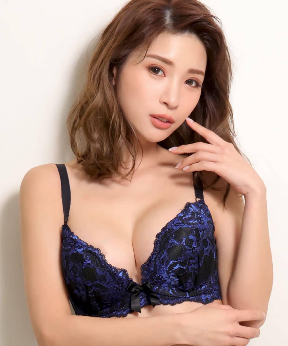 【WEB限定】バーレスク脇高ブラ(R) 2 単品ブラジャー (FGHカップ)