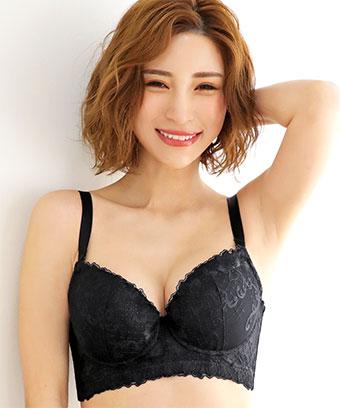 【プライスダウン】タニマリフト MODE ココ 脇高 単品ブラジャー (FGHカップ)