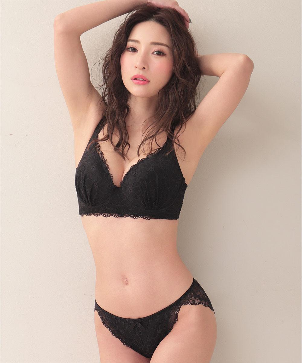 aimerfeel楽ブラ(R) 極 ブラジャー&ショーツ (FGHカップ)