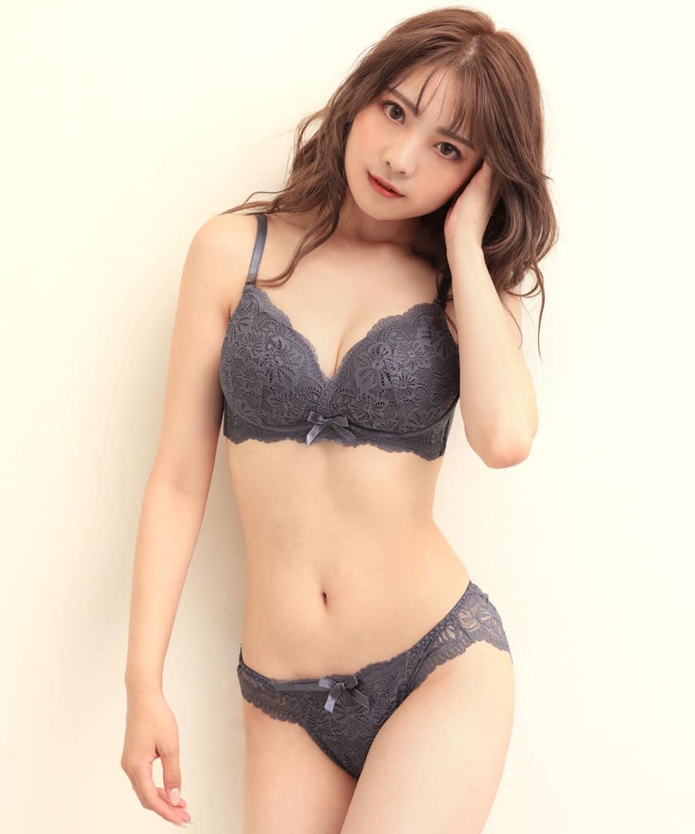SunnyFlower 夢ごこち ノンワイヤー ブラジャー&ショーツ