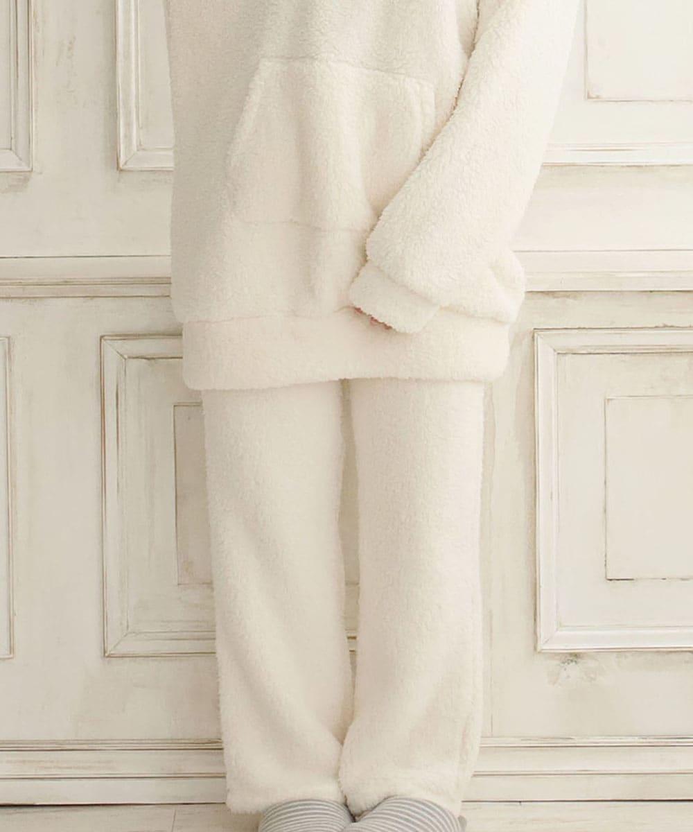 【プライスダウン】温盛 ロングパンツ 単品ボトムス (男女兼用サイズ):MODEL:158cm/SIZE:M