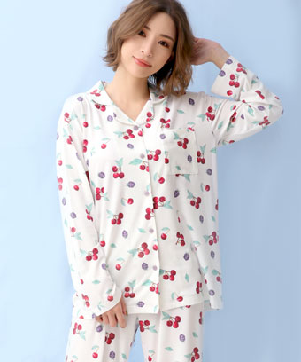 とろみタッチパジャマ 上下セット