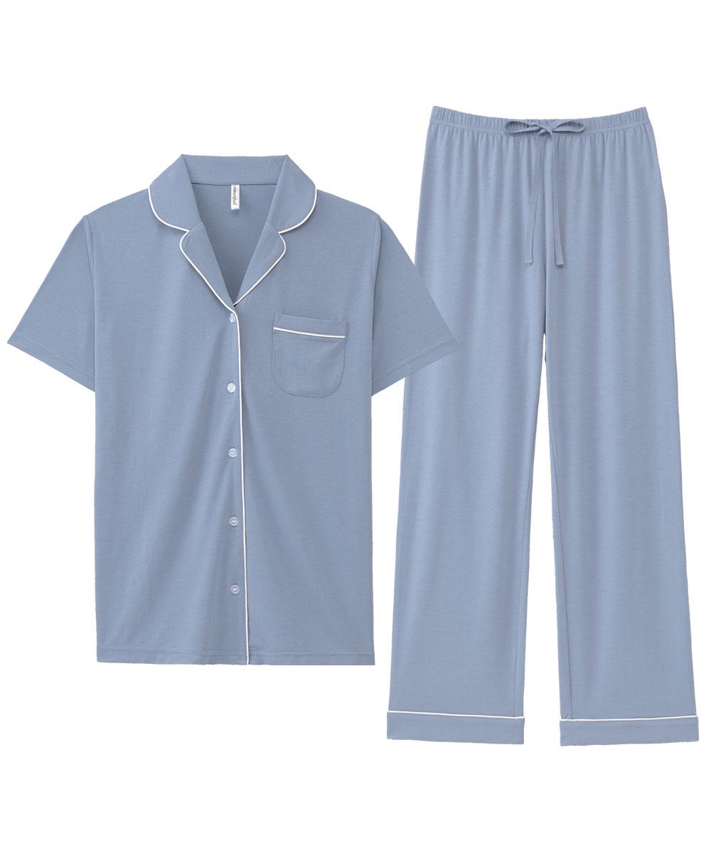 ひんやりタッチパジャマ 上下セット