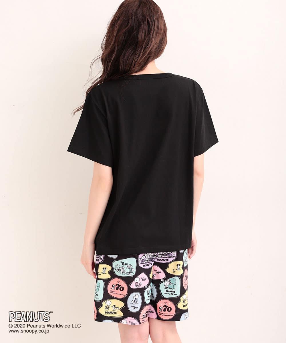 PEANUTS70周年記念 レトロスヌーピー Tシャツ 上下セット