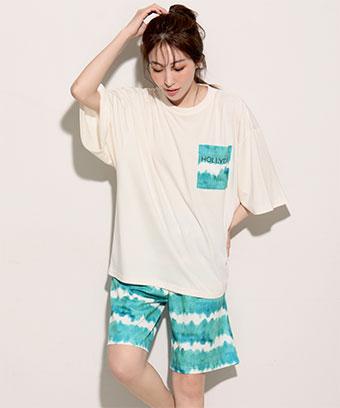 【プライスダウン】BIGTシャツ 上下セット (男女兼用サイズ)