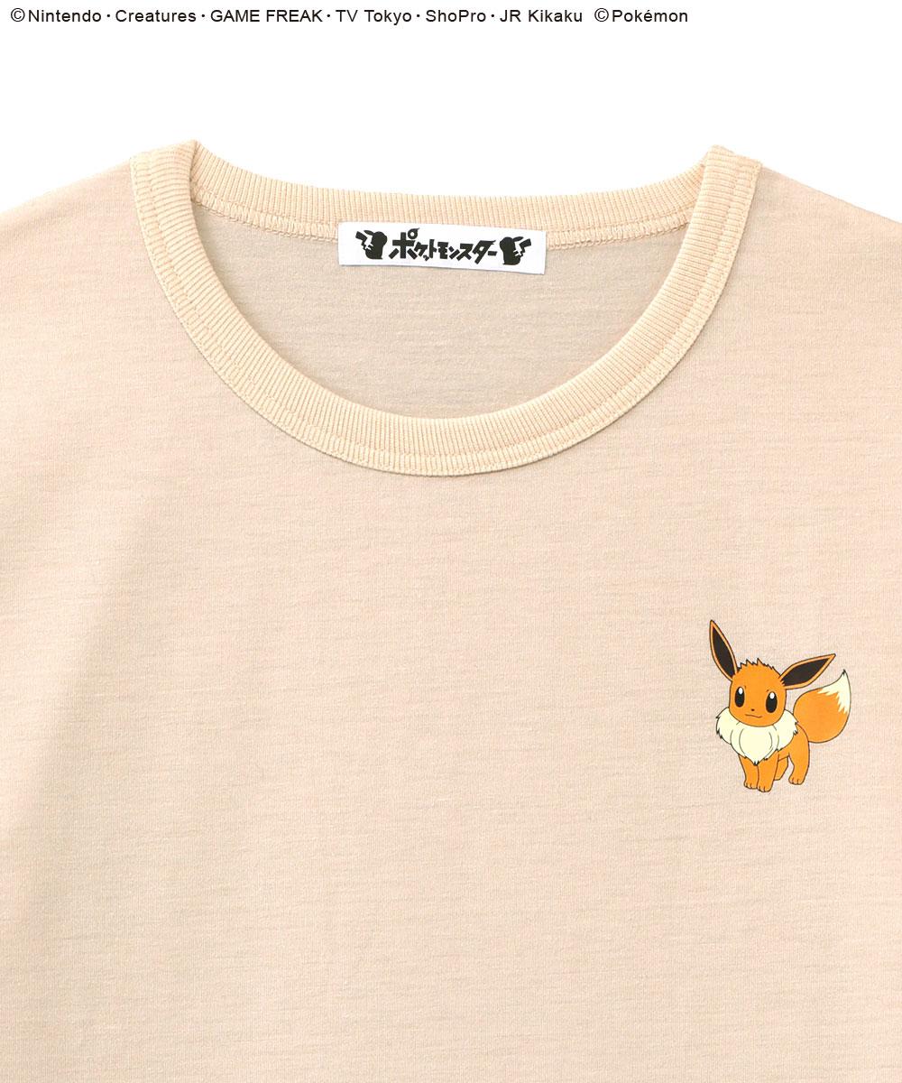 ポケモン ワンポイント Tシャツ 上下セット (男女兼用サイズ)